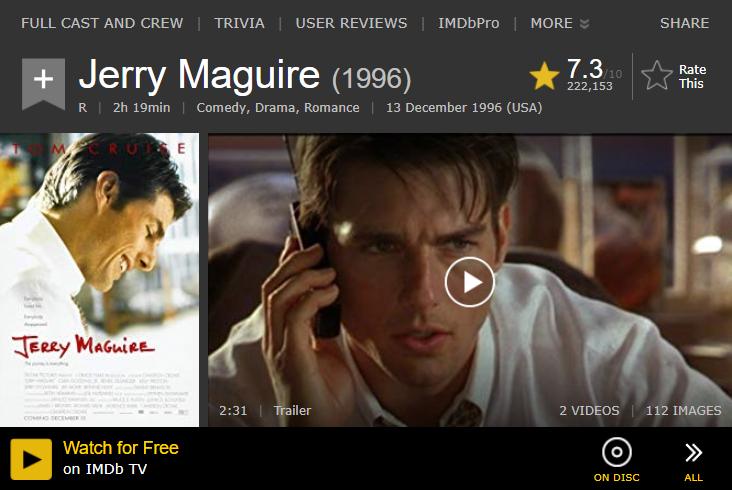 Contenido en IMDb TV