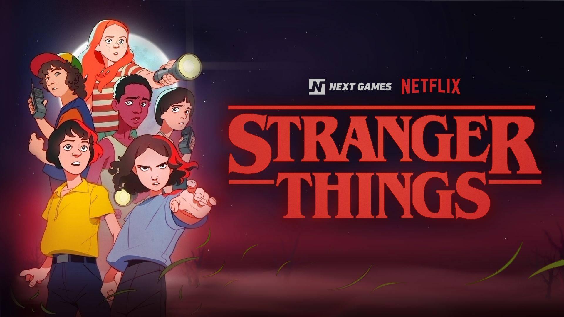 Juego Stranger Things de Netflix