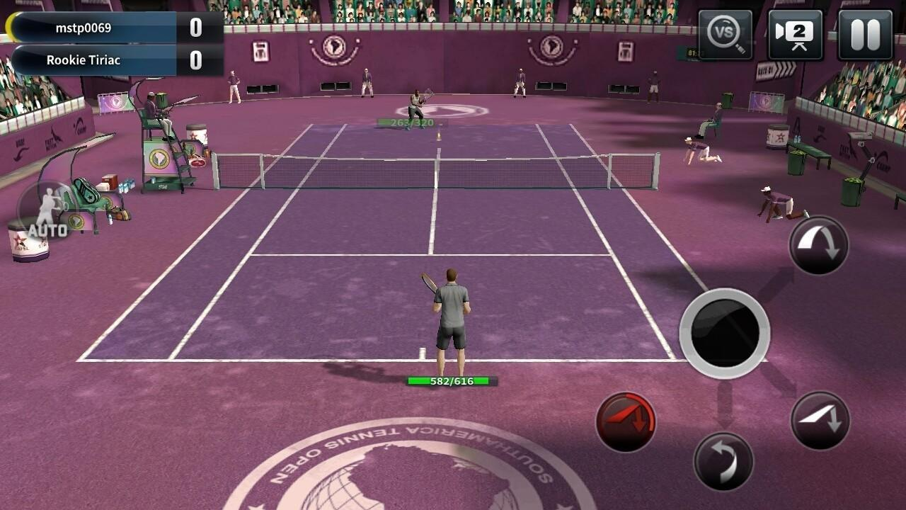 Juego Android Ultimate Tennis