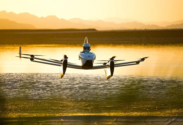 Avión eléctrico Kitty Hawk Flyer