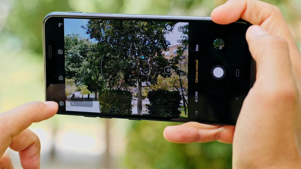 LG G8s ThinQ cámara