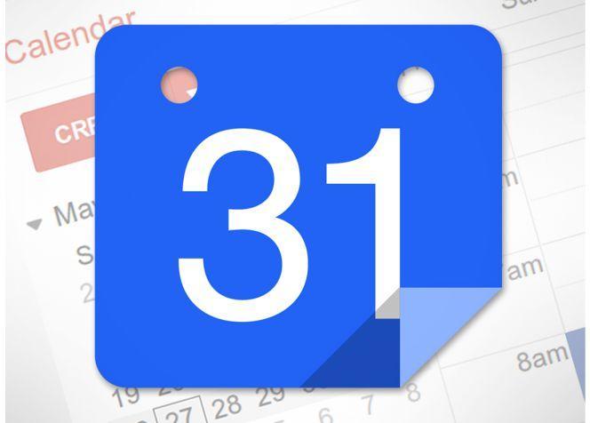 Logotipo del calendario de Google