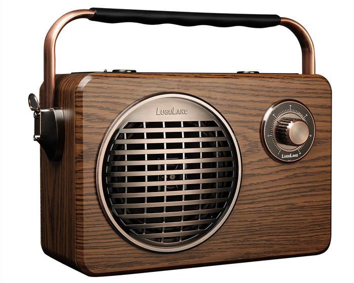 Diseño del altavoz LuguLake Bluetooth Speaker