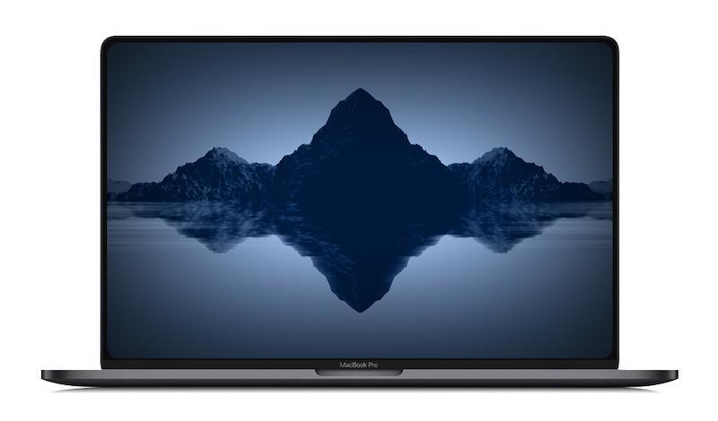 Posible diseño del nuevo MacBook pro de 16 pulgadas
