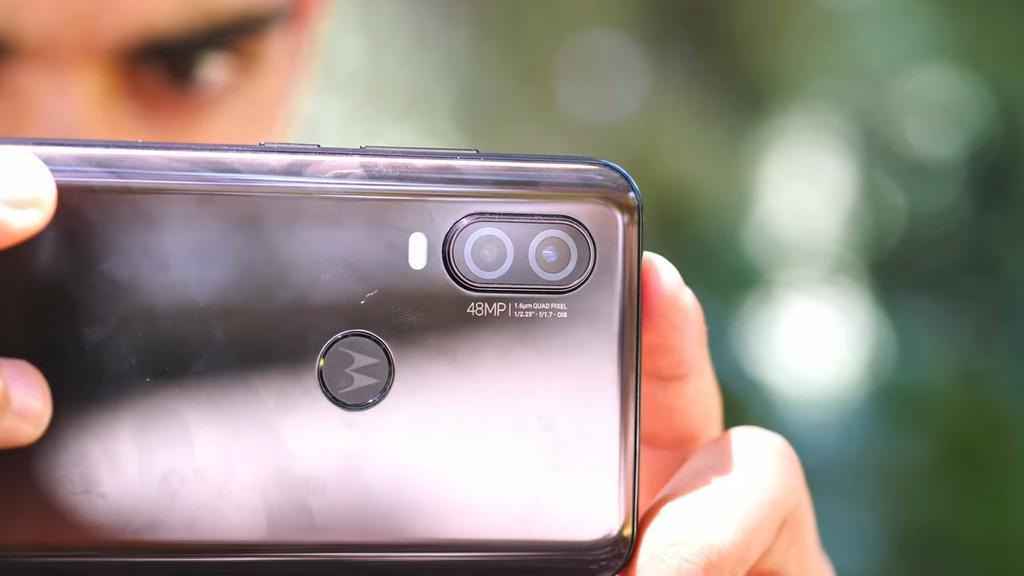 Cámara del Motorola One Vision