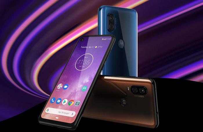 Diseño del teléfono Motorola One Vision