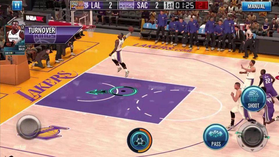 Juego Android NBA 2K Mobile
