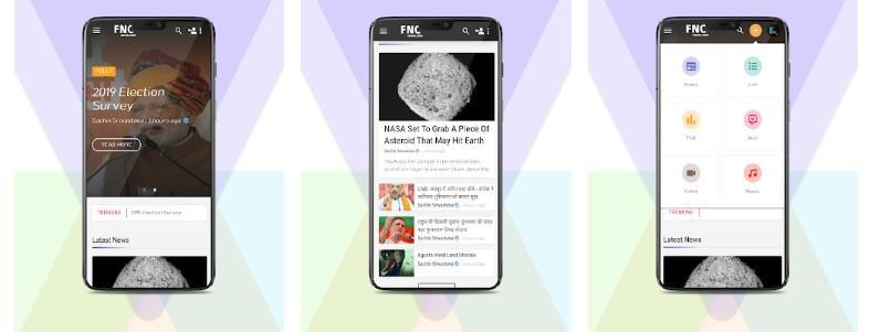 Aplicación FncNews
