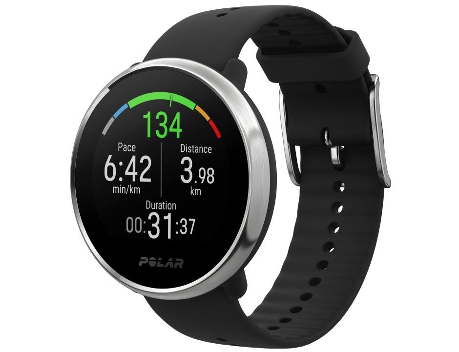 Diseño del smartwatch Polar Ignite