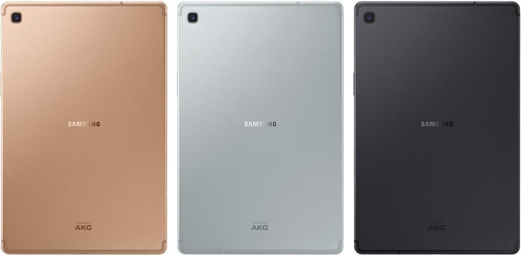 Samsung Galaxy Tab S5e por detrás