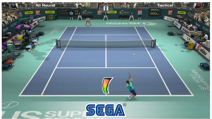 Juego Android Virtua Tennis Challenge