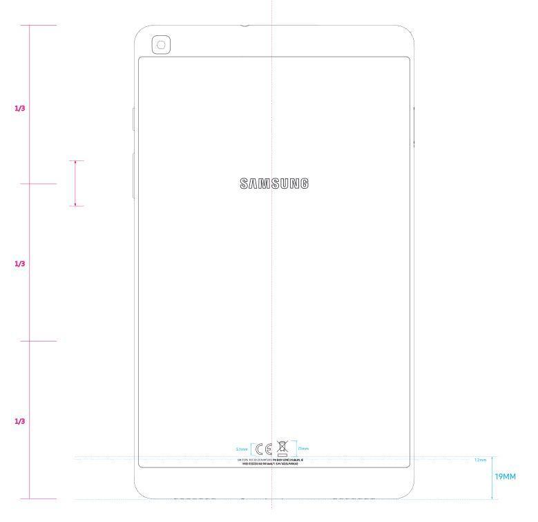 diseño Tablet Samsung