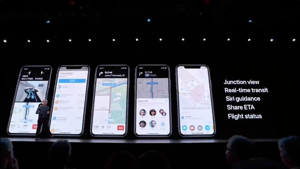 Mapas de iOS 13