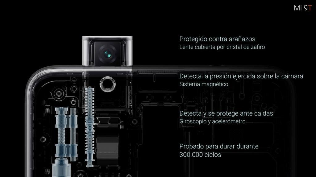 Xiaomi Mi 9T cámara retráctil