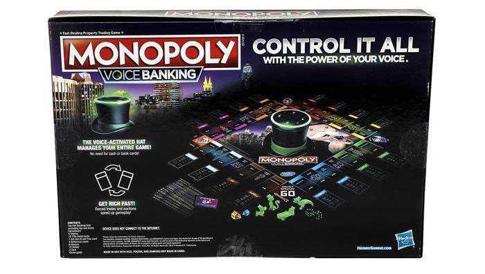 Caja del juego Monopoly Voice Banking
