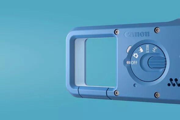 Cámara portátil Canon