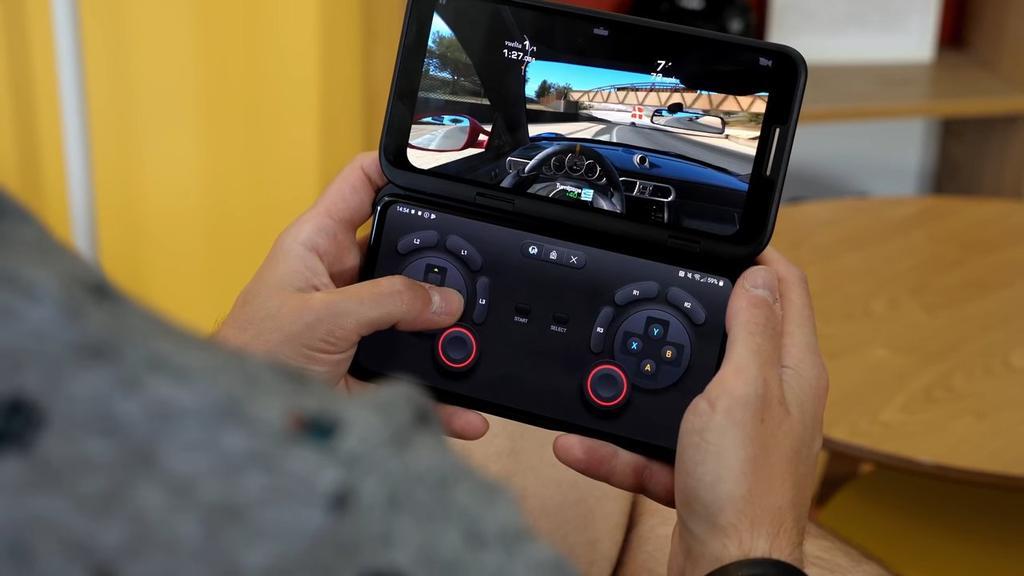 Doble pantalla del LG V50 ThinQ