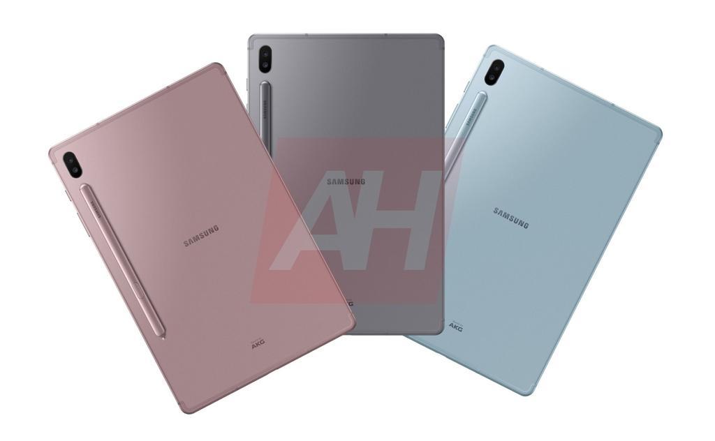 Samsung Galaxy Tab S6 por detrás