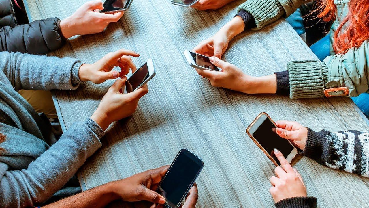 Uso de teléfonos a la vez