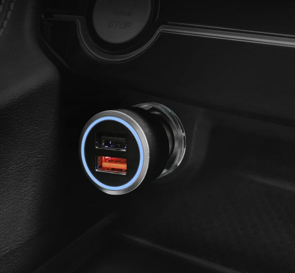 Cargador rápido para el coche de Xiaomi