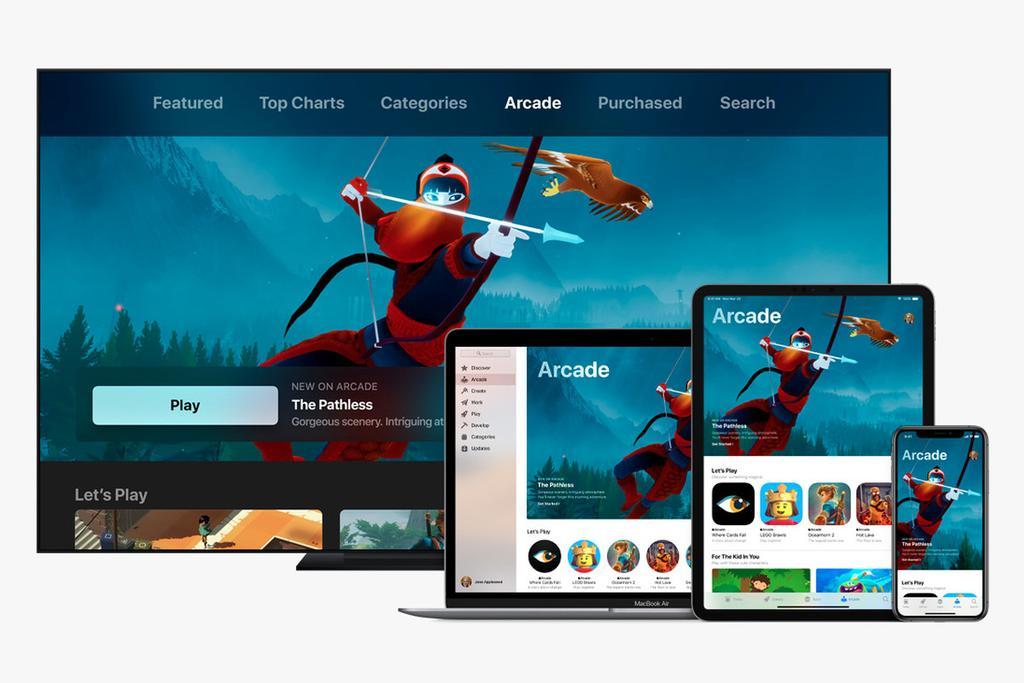 Plataformas compatibles con Apple Arcade