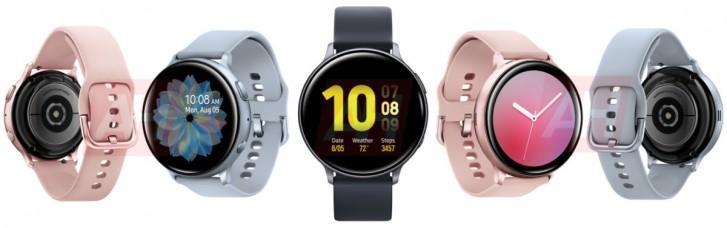 Diseño final del Samsung Galaxy Watch Active 2