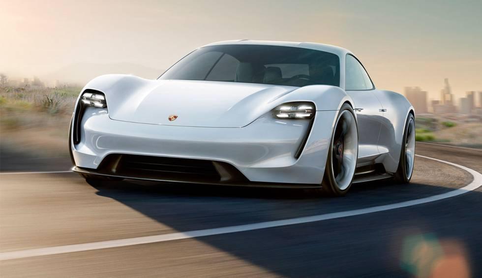 Imagen del coche Porsche Taycan eléctrico