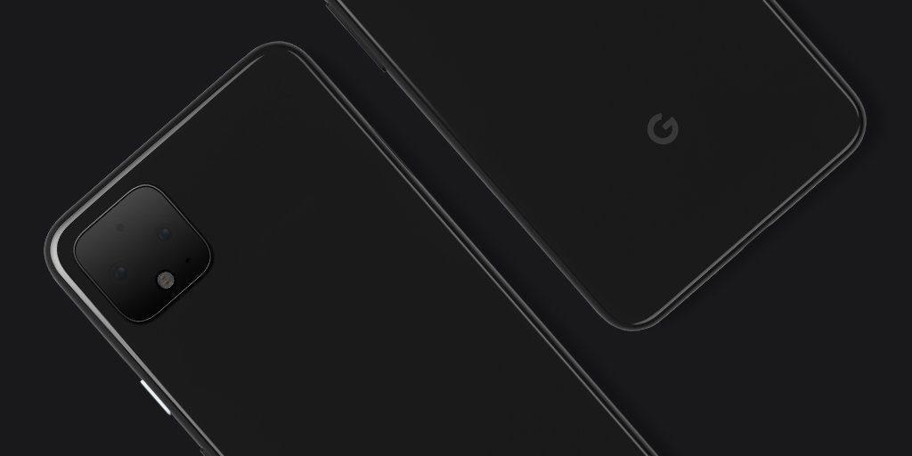 Diseño oficial de los Google Pixel 4