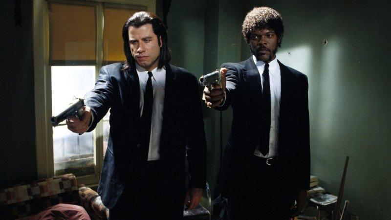 Escena de Pulp Fiction