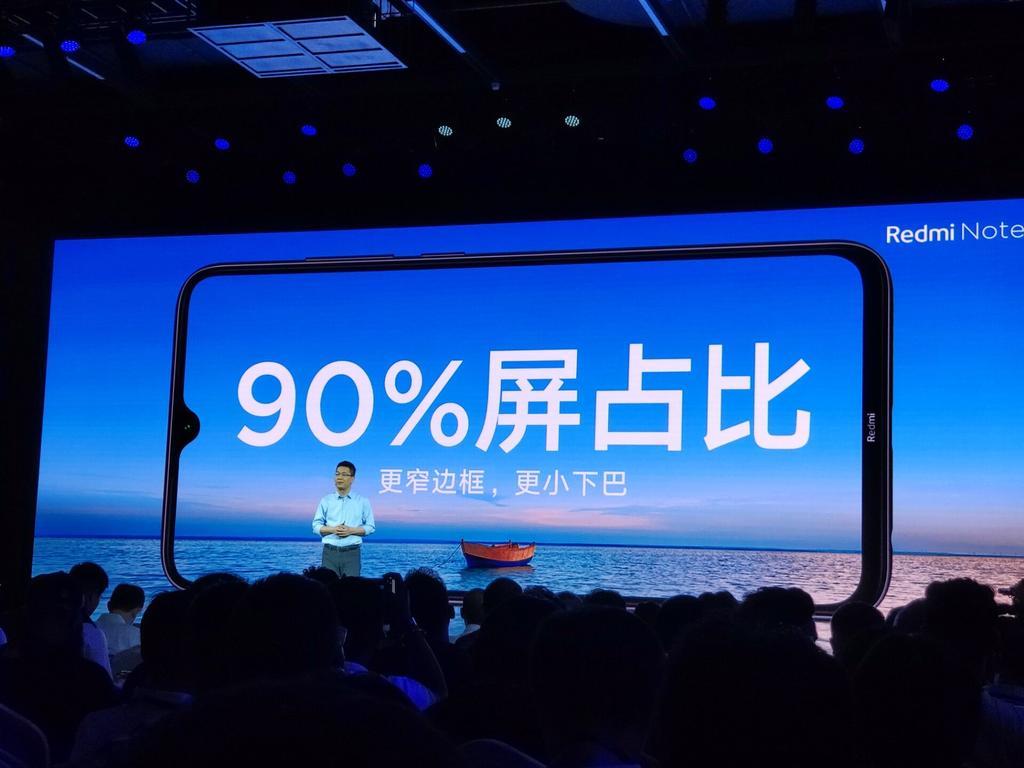 Pantalla de Xiaomi Redmi Note 8
