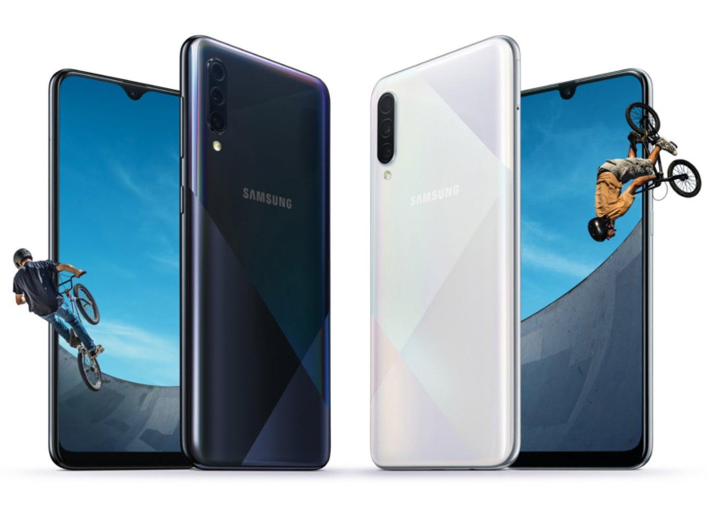 Samsung Galaxy A50s y A30s