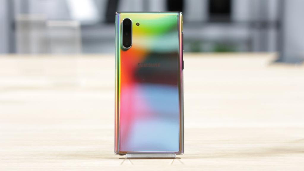 Cámara del S pen del Samsung Galaxy Note 10