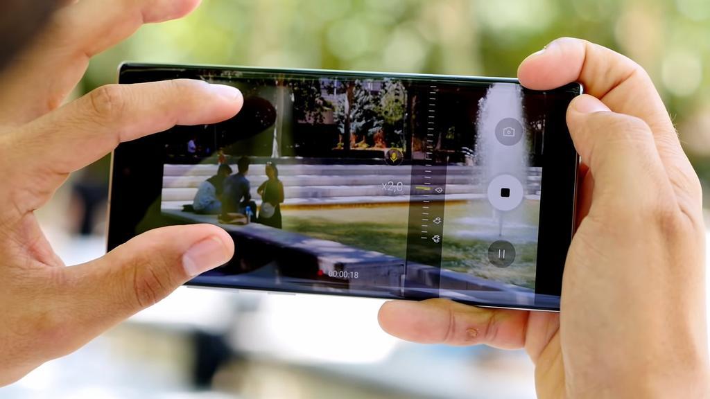 Cámara del Samsung Galaxy Note 10+