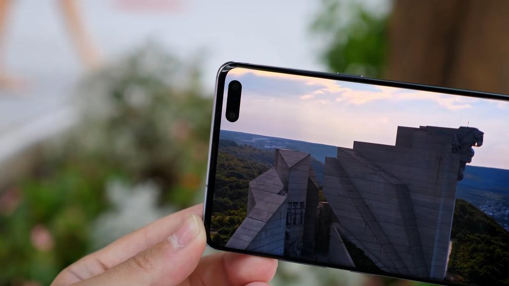Cámara frontal del Samsung Galaxy S10 5G