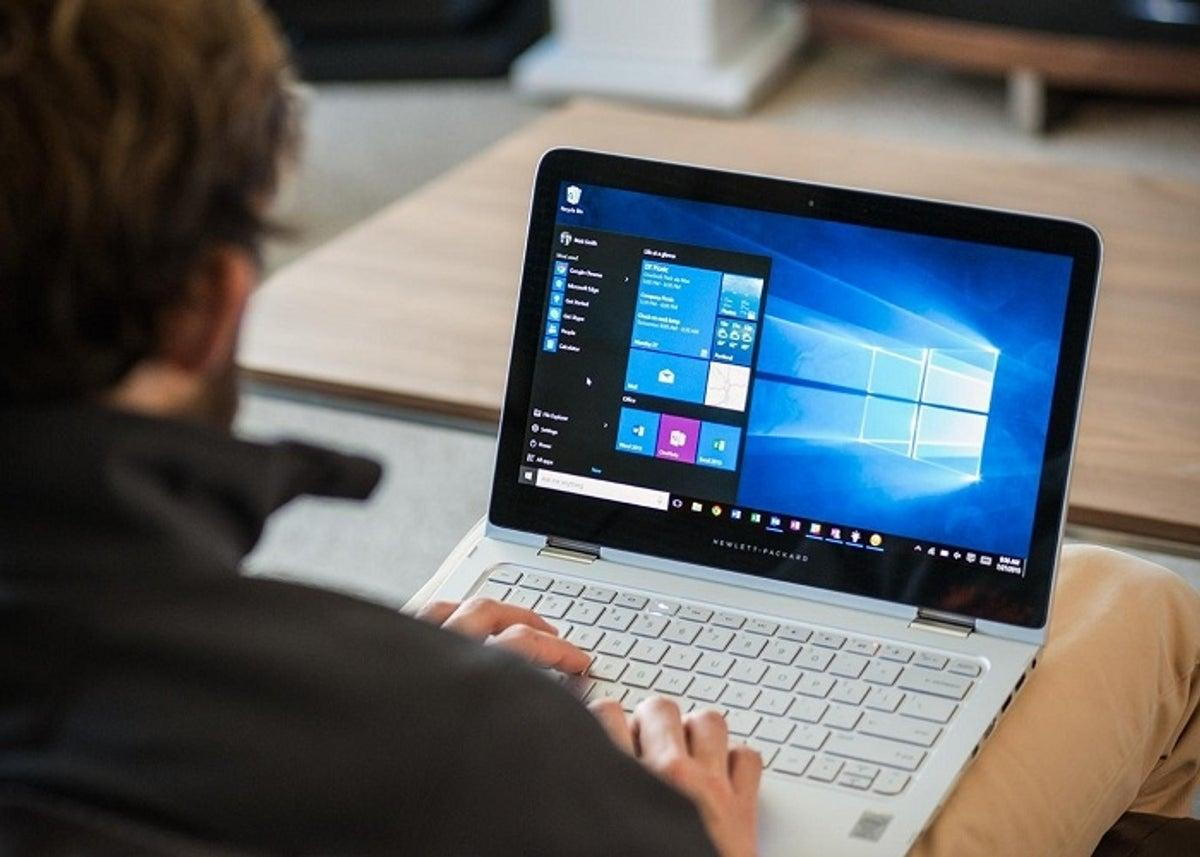 Uso de portátil con Windows 10