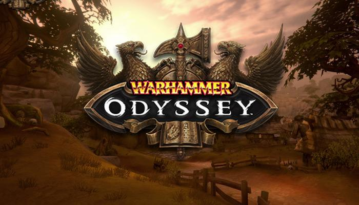 Logotipo del juego Warhammer: Odyssey