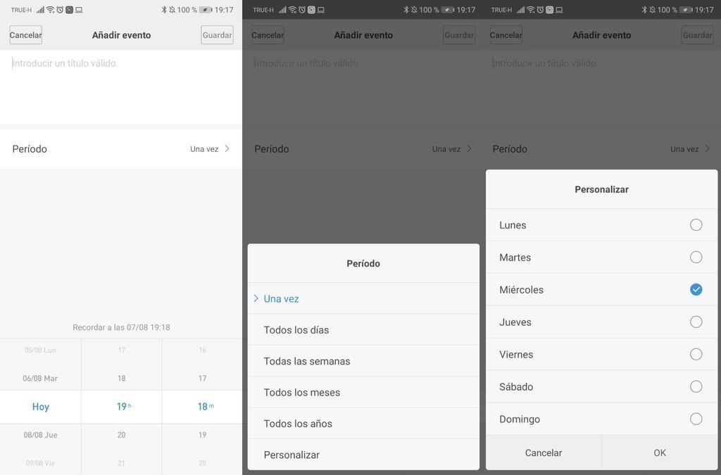 Interfaz de Mi Fit de la Xiaomi Mi Band 4