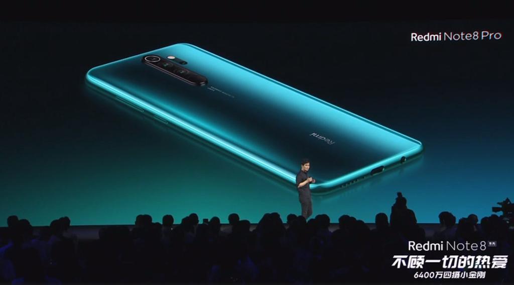 Imagen trasera del Xiaomi Redmi Note 8 Pro