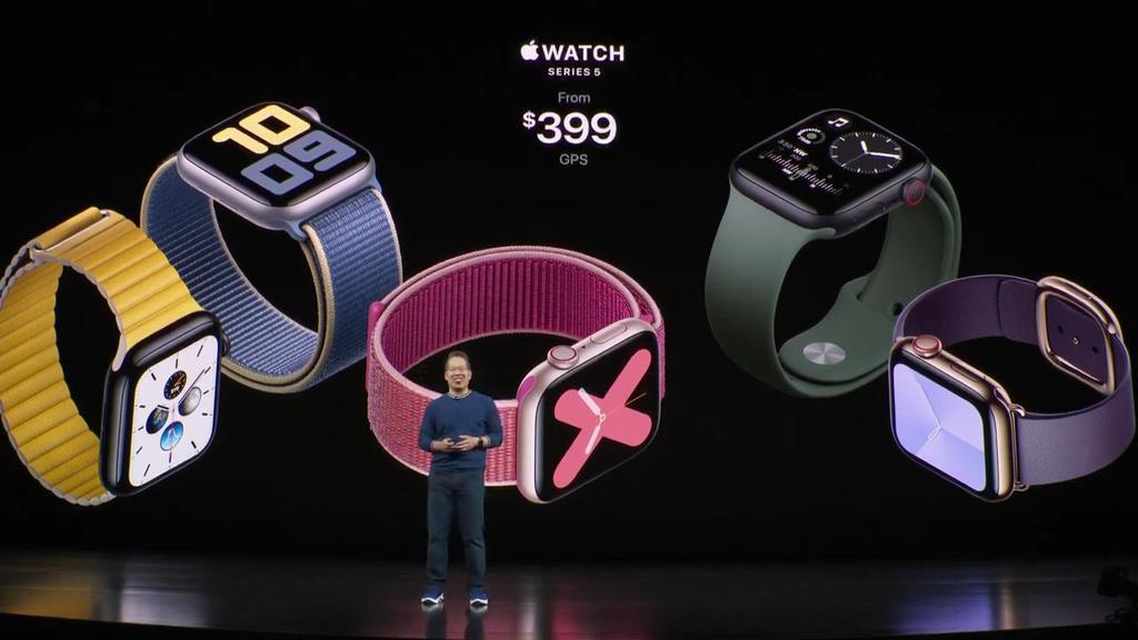 Apple Watch series 5 precio