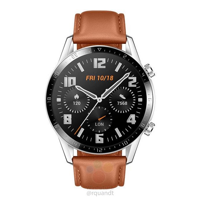 Huawei Watch GT 2 por delante