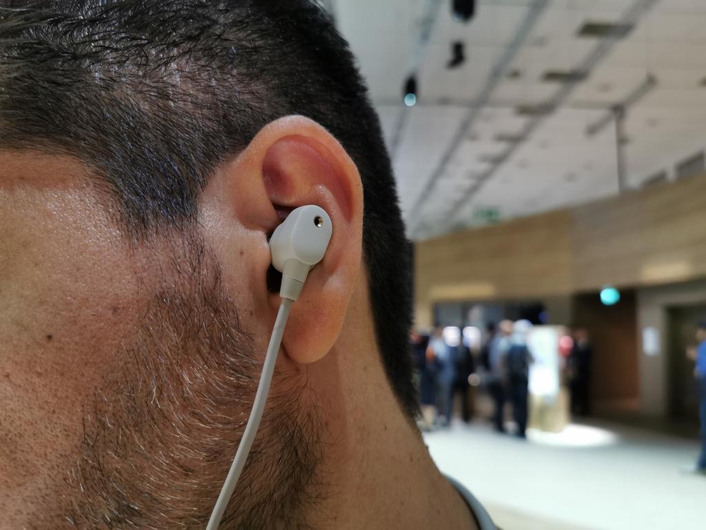 Auriculares Bluetooth Sony WI-1000XM2