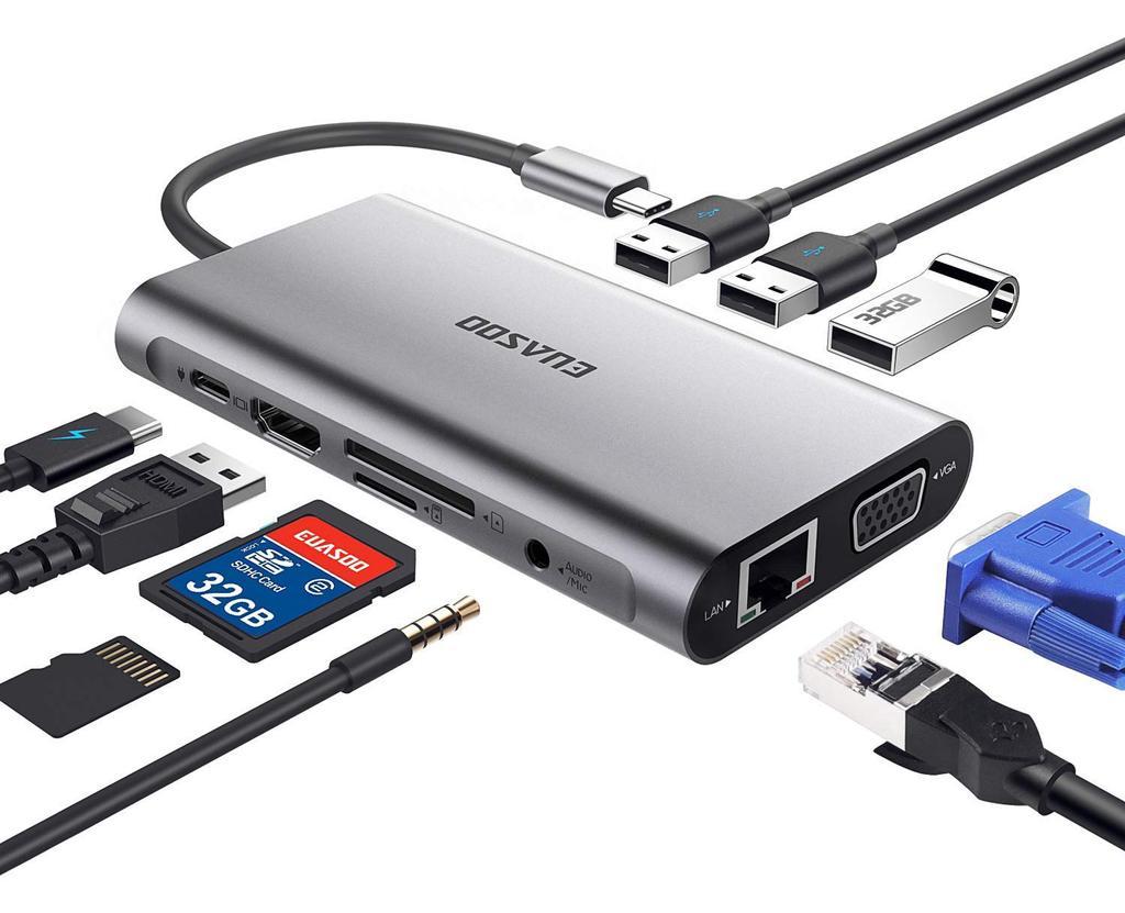 Hub EUASOO Hub USB Tipo C