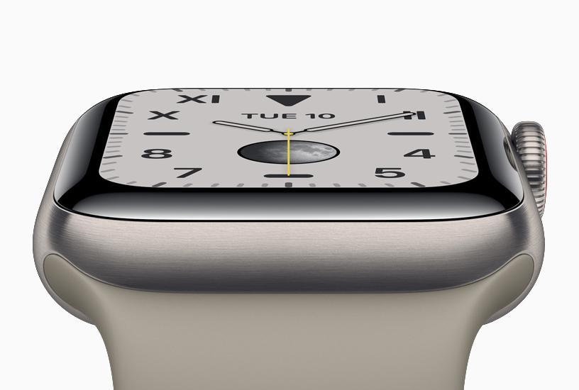Esfera del Apple Watch series 5