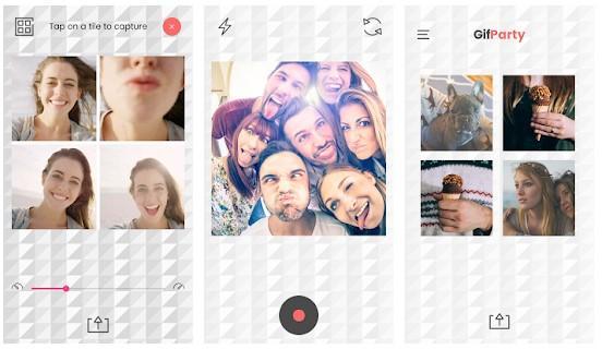 Aplicación GIF PartyPro - GIF Video Booth