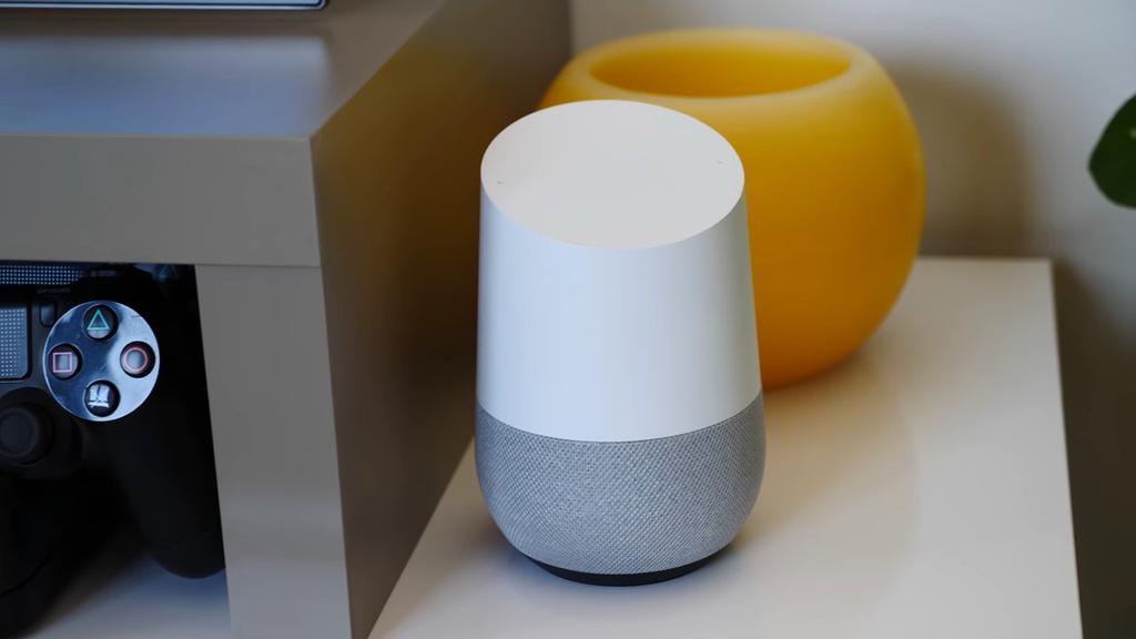 Asistente de voz Google Home