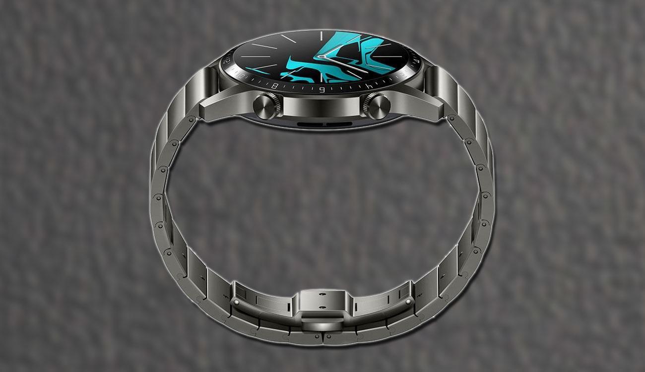 Diseño del Huawei Watch GT 2