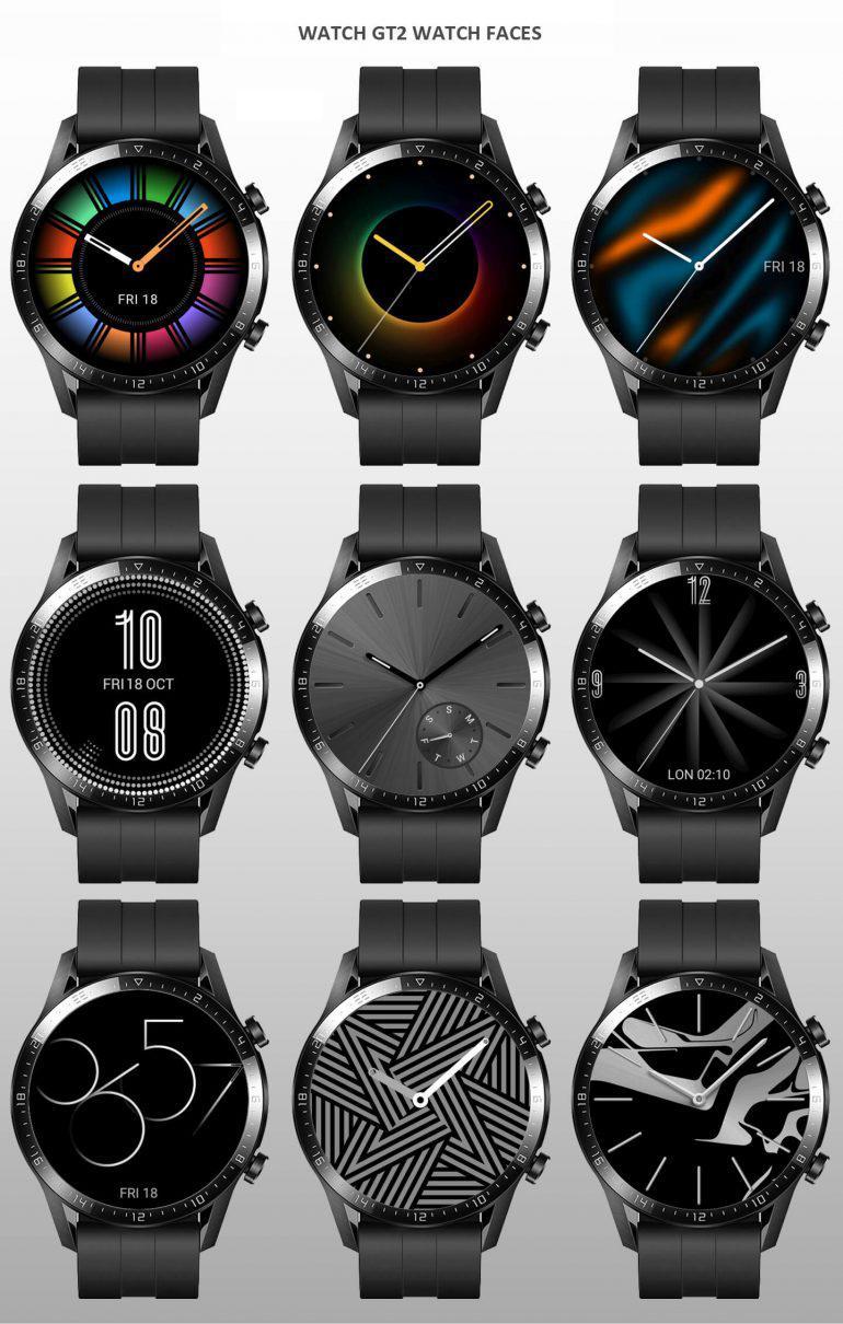 Interfaces Huawei Watch GTA2