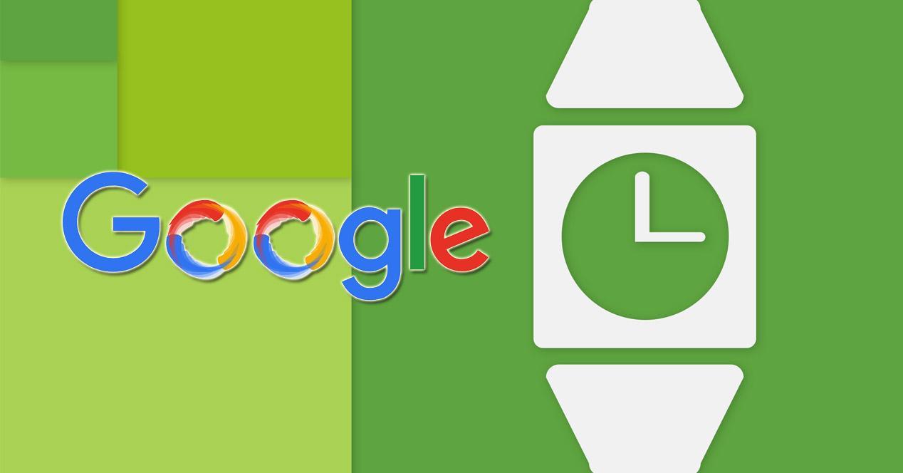 Logotipo de Google con fondo verde