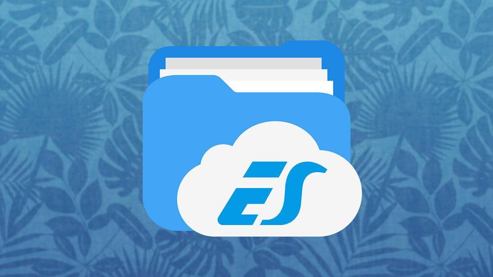 Logotipo de la aplicación ES File Explorer