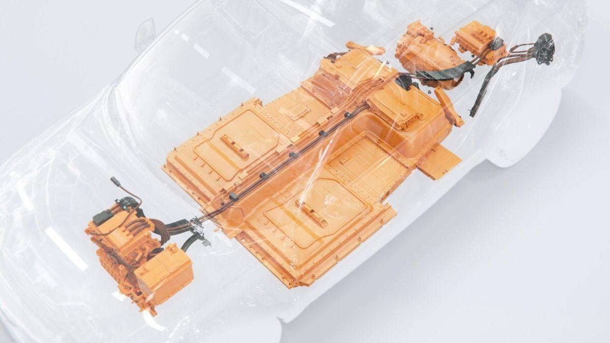 Sistema eléctrico protegido del Volvo XC40